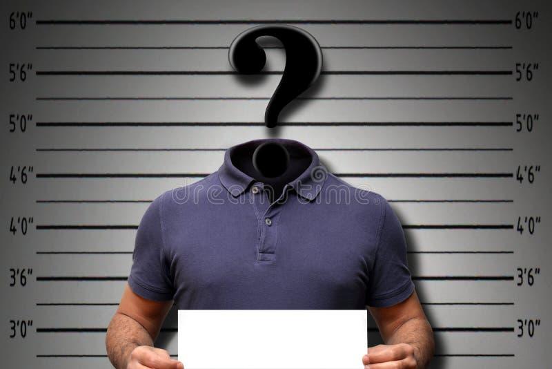 Crimine cyber del pirata informatico fotografia stock