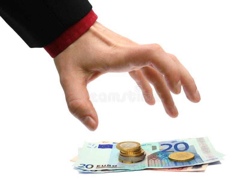 Crimine finanziario fotografia stock