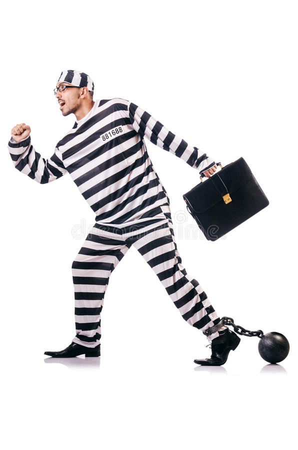 Criminel De Convict Images libres de droits