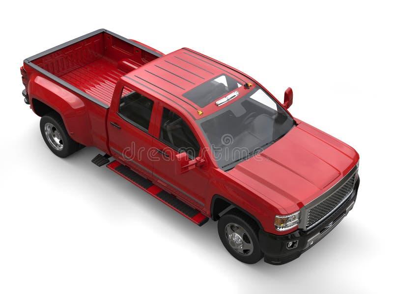 Pickup Truck Top View Stock Illustrations 485 Pickup Truck