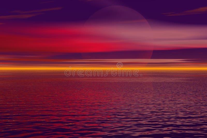 Download Crimson skys stock illustration. Illustration of business - 881341