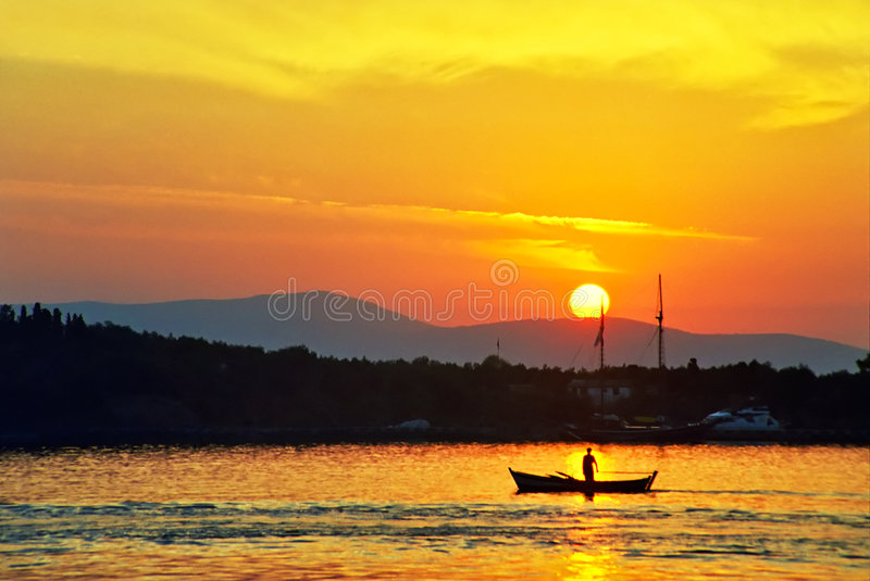 crimson sunrise στοκ φωτογραφία με δικαίωμα ελεύθερης χρήσης