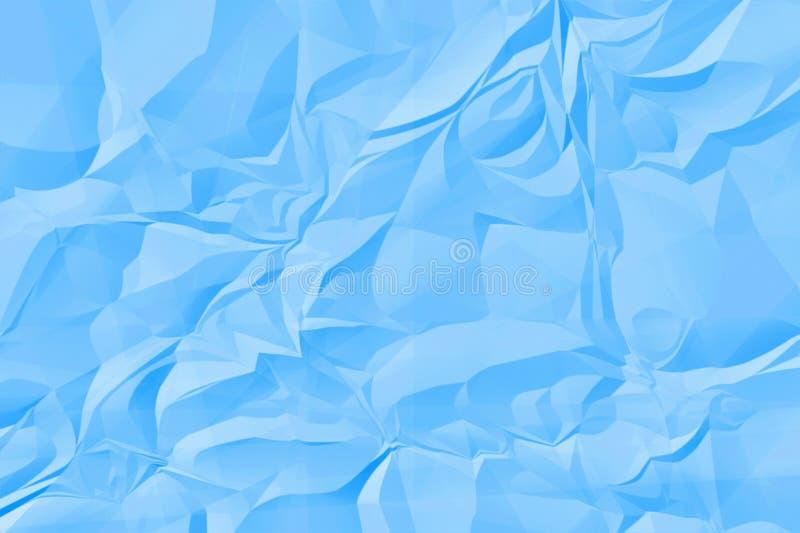 Crinkle paper stock illustration