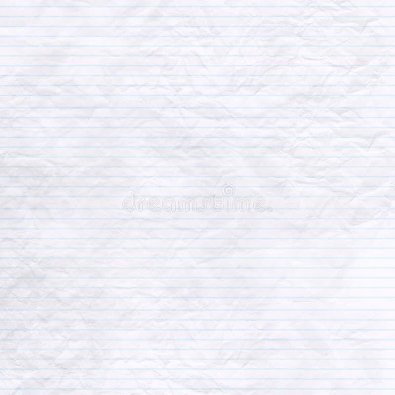 crinkled бумага стоковая фотография rf