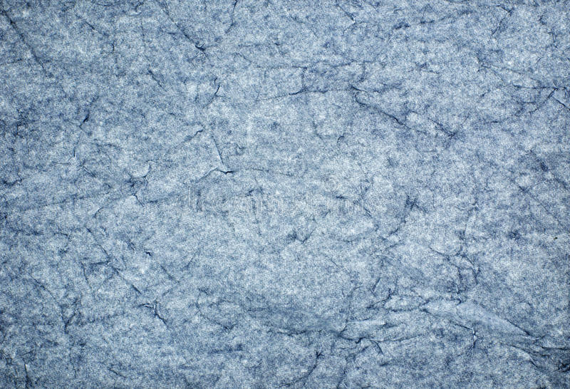 Download Crinkled Blue Paper stock photo. Image of grungy, fibre - 22397710