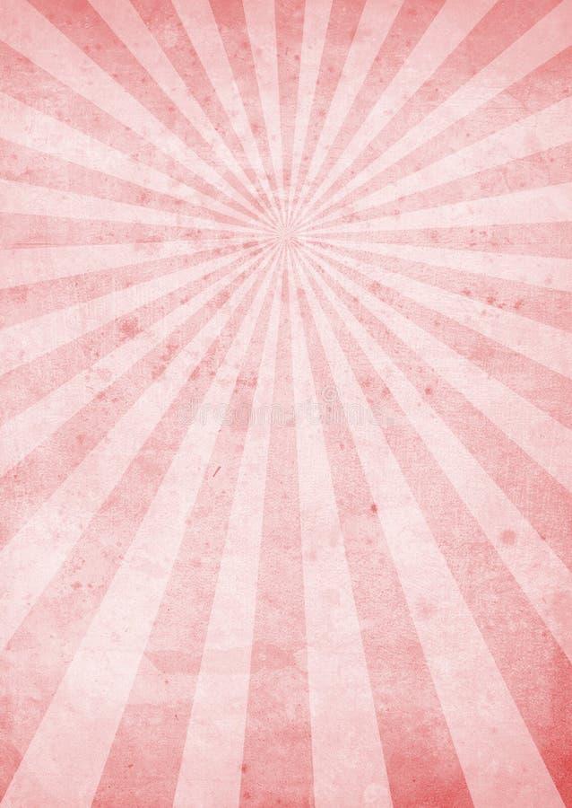 crinkled magenta излучает иллюстрация штока