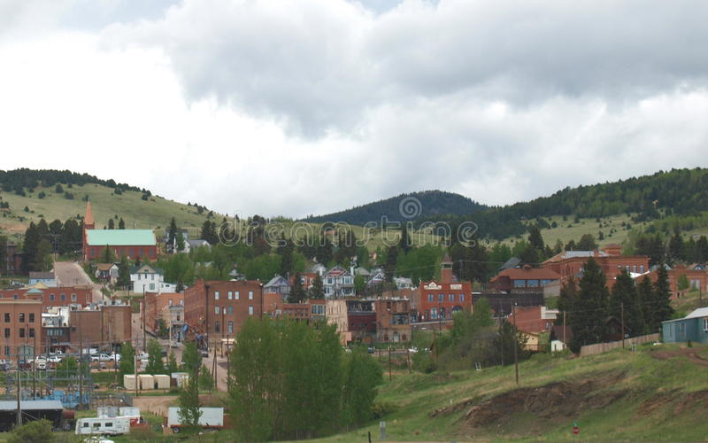 Cripple Creek, Colorado. Cripple Creek is a small gold mining and gambling town west of Manitou Springs in Colorado royalty free stock photography