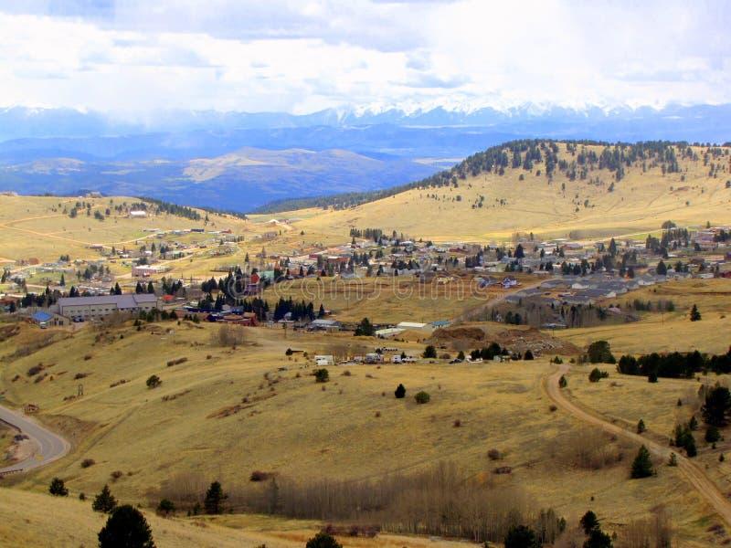 Cripple Creek Colorado, USA. An old gold mining town called Cripple Creek, Colorado USA stock images