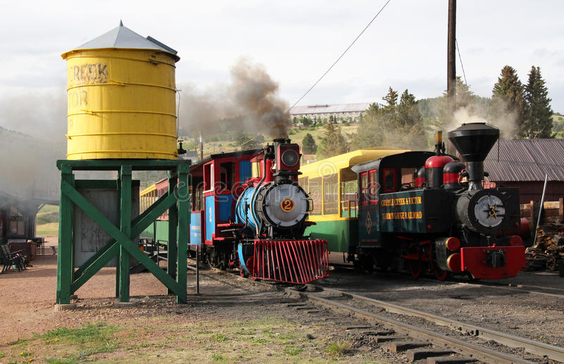 Cripple Creek and Victor Narrow Gauge Railroad stock photos