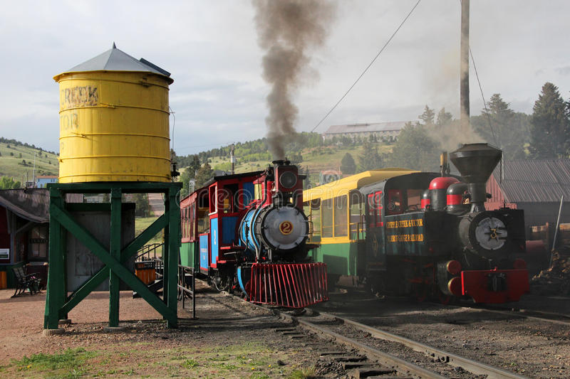 Cripple Creek and Victor Narrow Gauge Railroad stock image