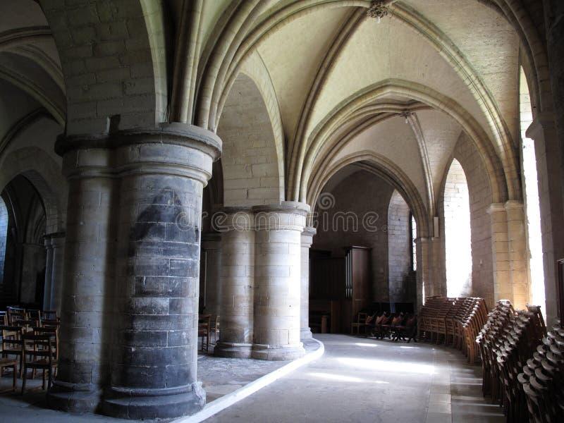 Cripta de la catedral de Cantorbery foto de archivo