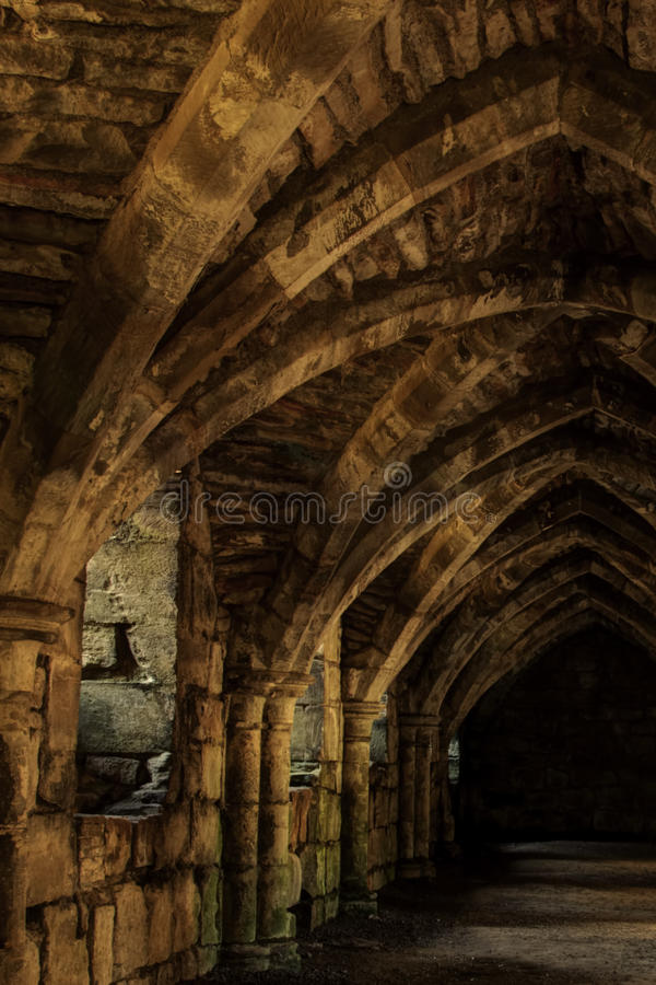 Cripta subterrânea imagens de stock royalty free
