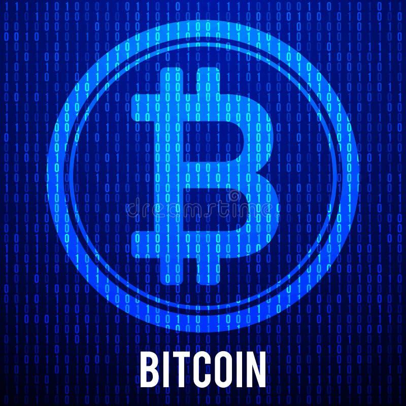 Cripto currency bitcoin stock illustration