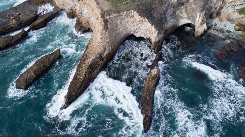 Crique d'aileron de requin photographie stock