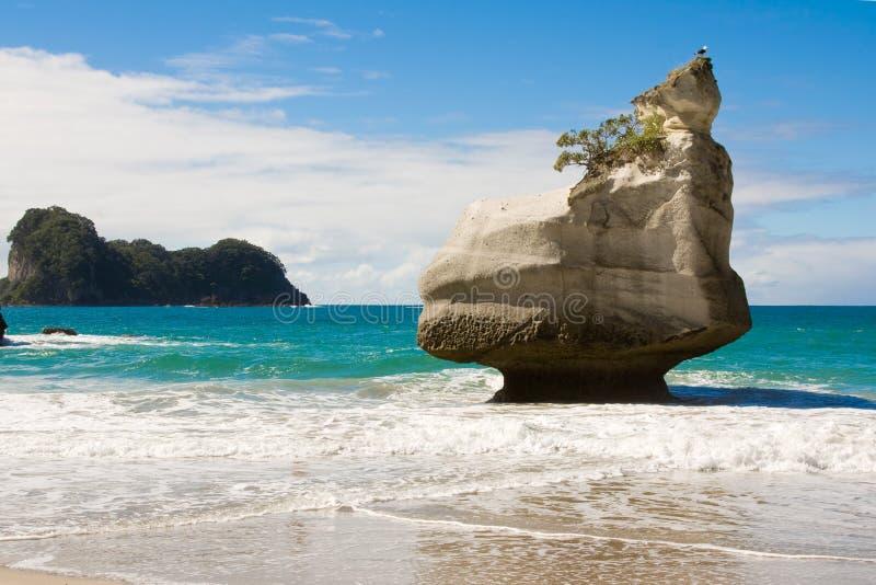 crique de cathédrale de plage image libre de droits