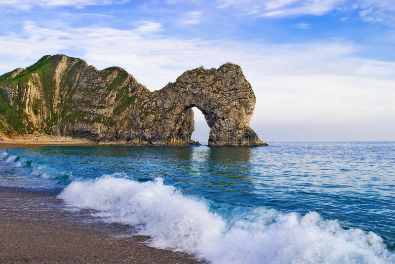 Crique de Lulworth photographie stock