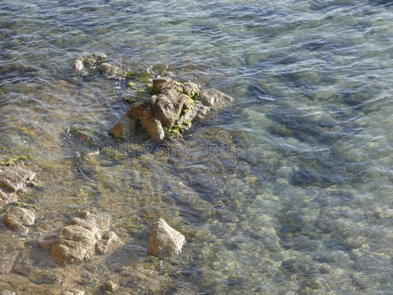 Crique, petite plage, sur Costa Brava photographie stock
