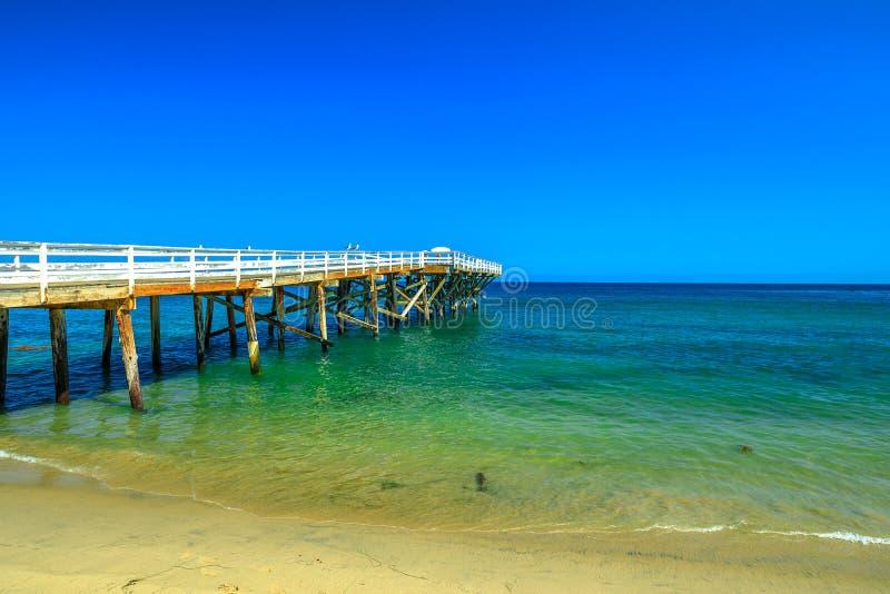 Crique Pier Malibu de Paradise photo libre de droits