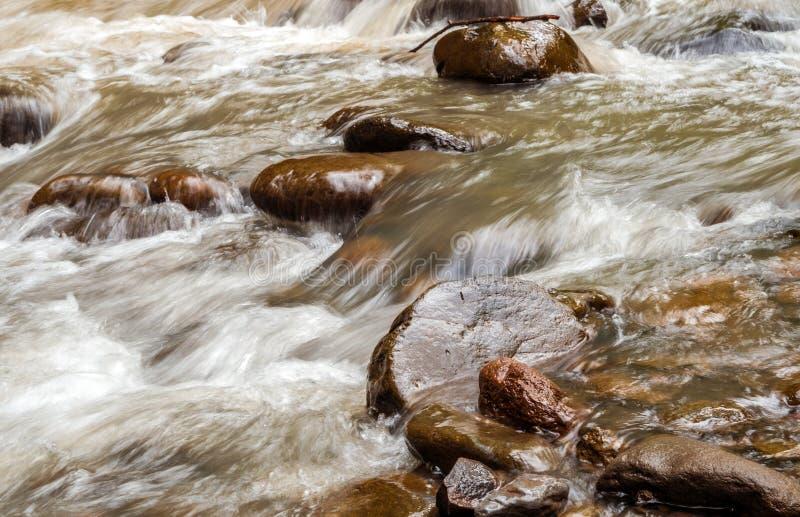 Crique sauvage de l'eau images stock