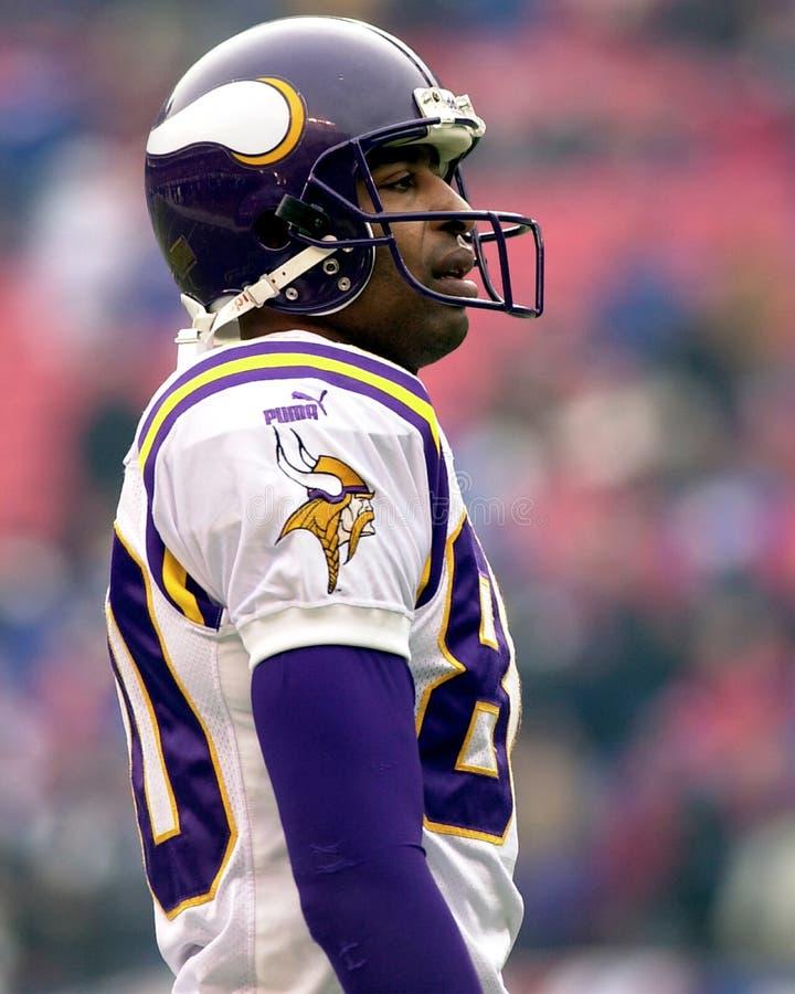 Cris Carter, Minnesota Vikings imagens de stock