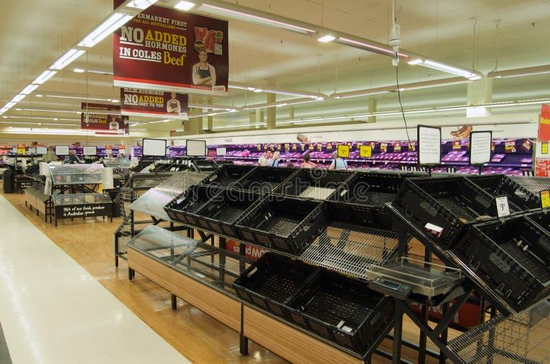 Crise alimentar após a inundação imagens de stock royalty free
