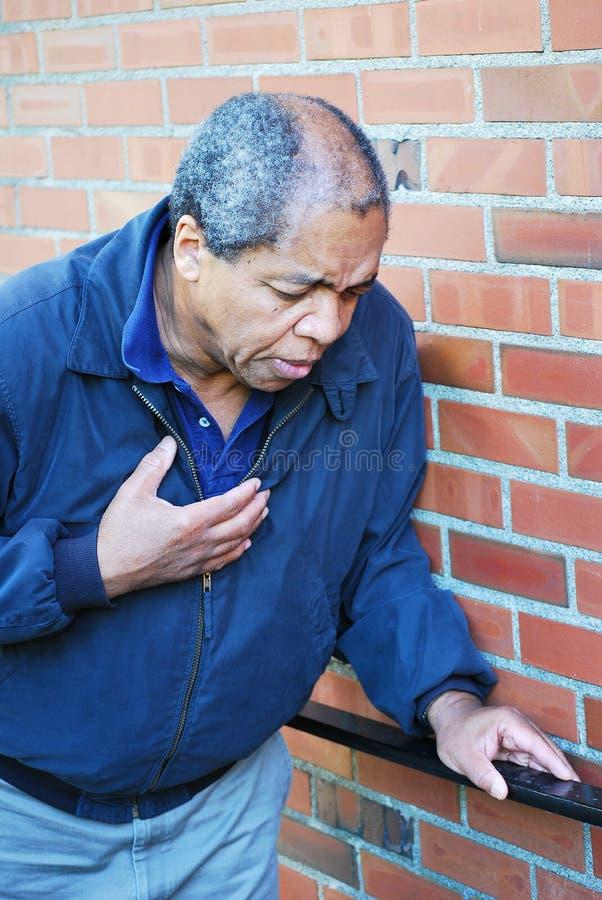 Crise cardiaque photos stock
