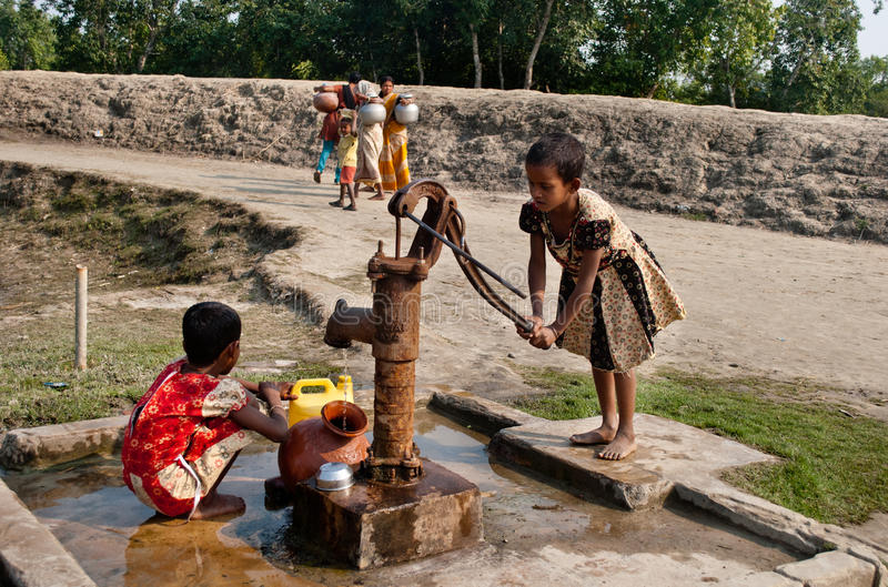 Crise de água foto de stock