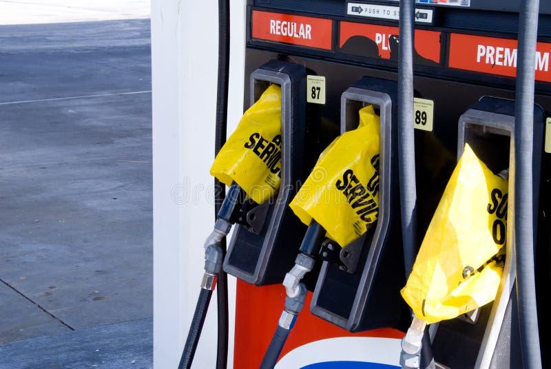 Crise de gaz photographie stock