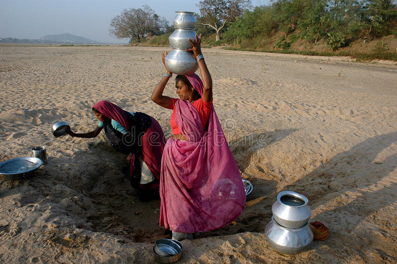 Crise de l'eau images libres de droits