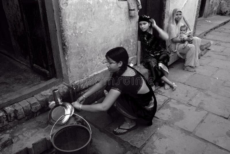 Crise de l'eau en Inde photos libres de droits