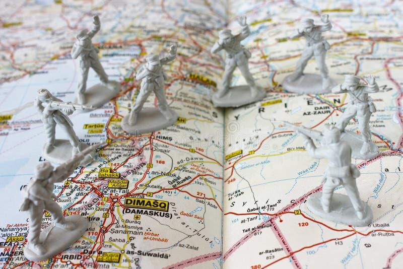 Crise de la Syrie photo libre de droits