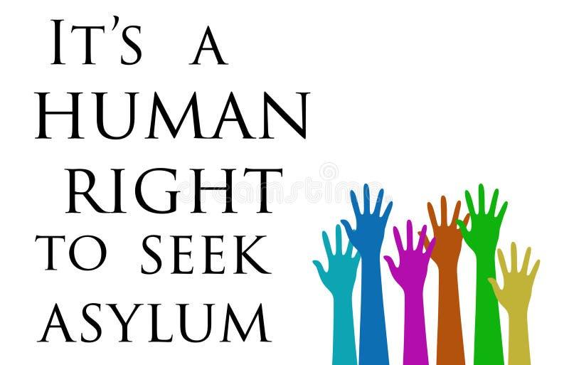 Crise de réfugié de l'Europe illustration libre de droits