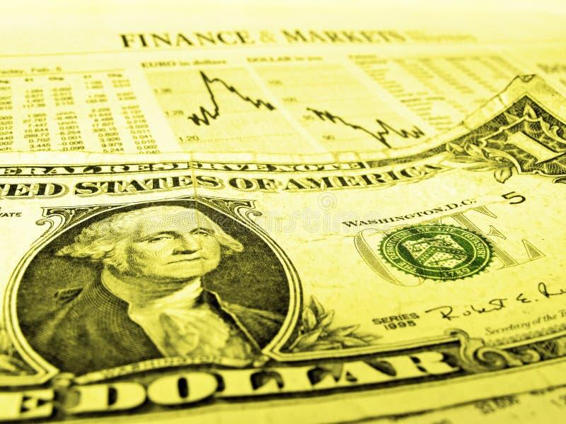 Crise financeira imagem de stock