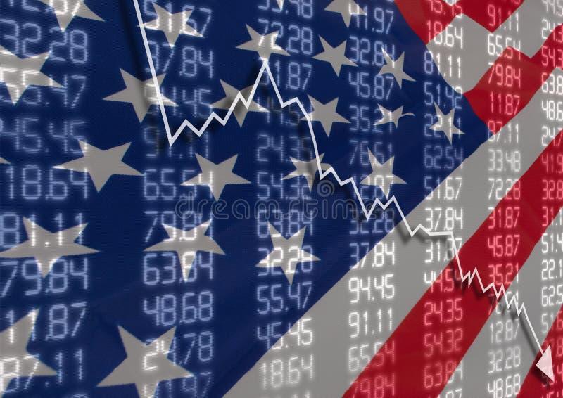 Crise nos EUA imagem de stock royalty free