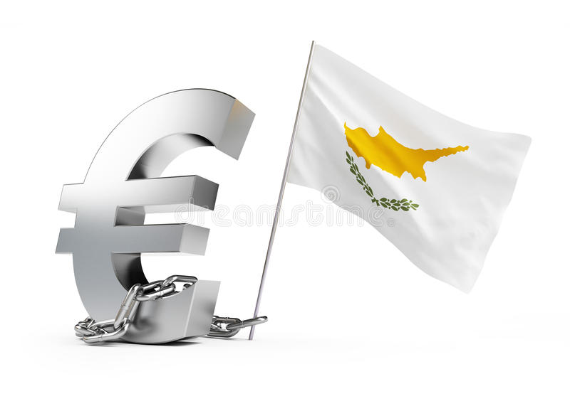 Crises In Cyprus Royalty Free Stock Images