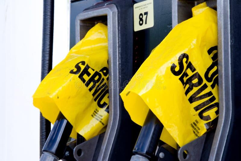 Crisi del gas immagini stock libere da diritti