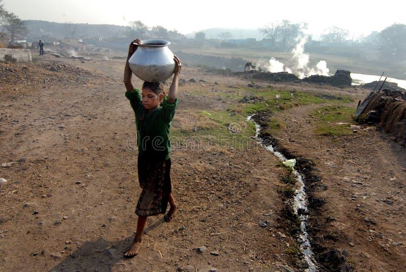 Crisi di acqua immagine stock libera da diritti