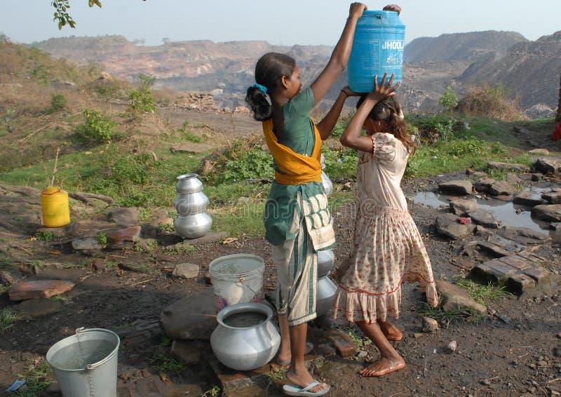 Crisi di acqua fotografie stock libere da diritti