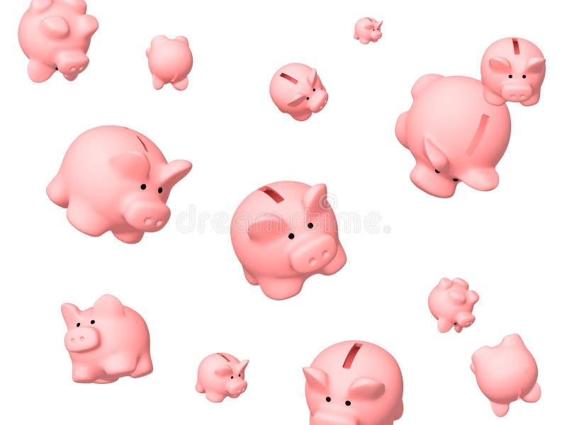Crisi finanziaria royalty illustrazione gratis