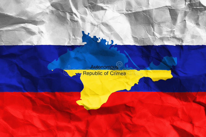 Crisi ucraina illustrazione di stock