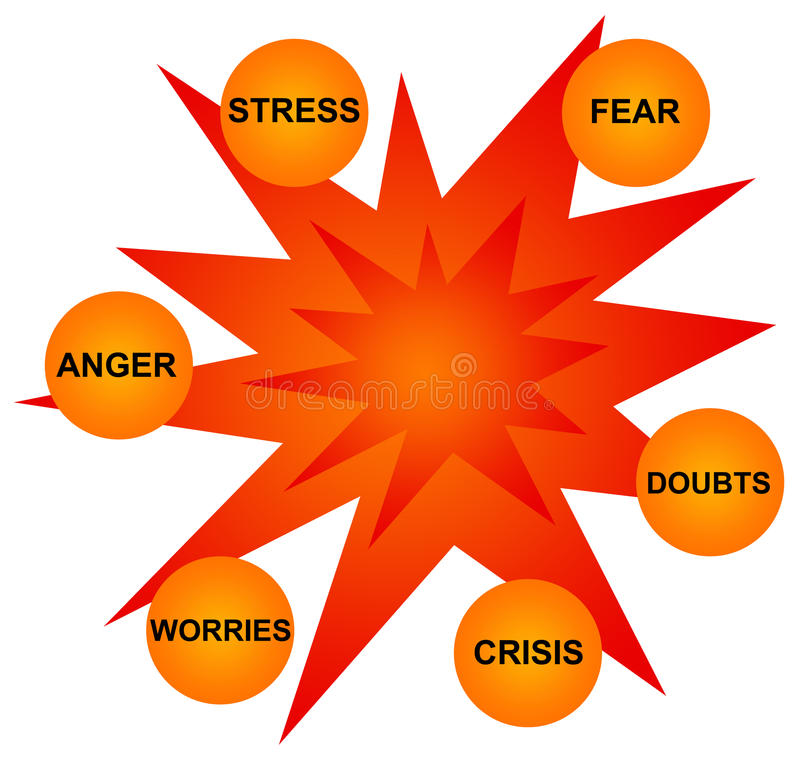 Download Crisis stock illustration. Image of gloom, despair, guilt - 17059130