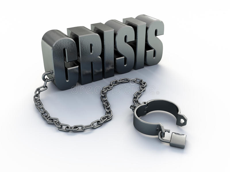 Download Crisis stock illustration. Image of crisis, loss, collapse - 22840626