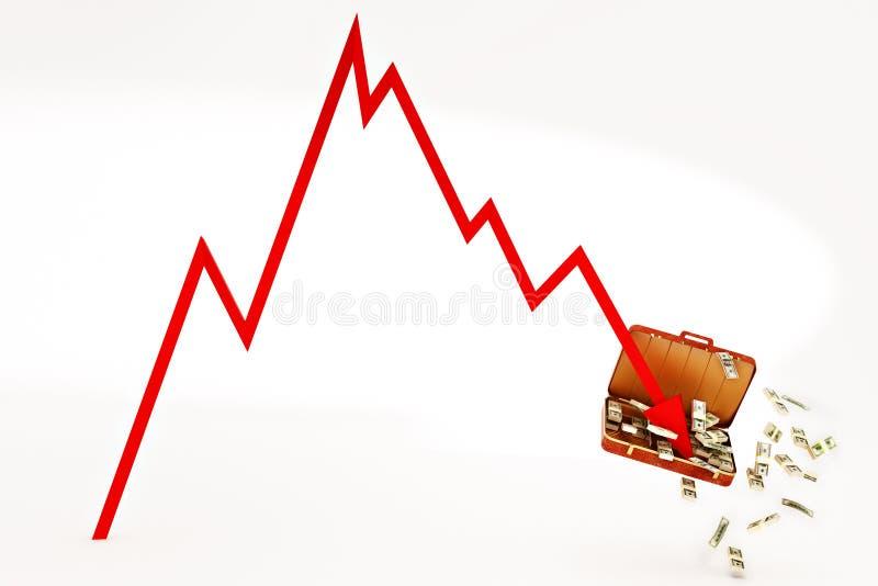 Download Crisis stock illustration. Illustration of economic, failure - 9770013