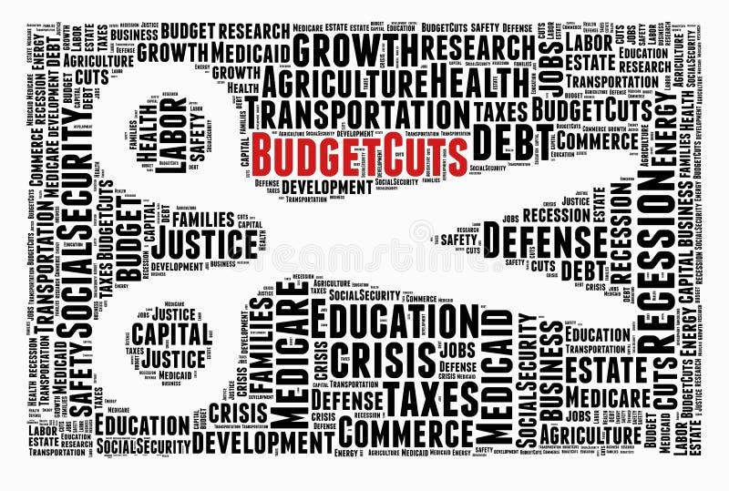 Crisis, budget cuts stock photos