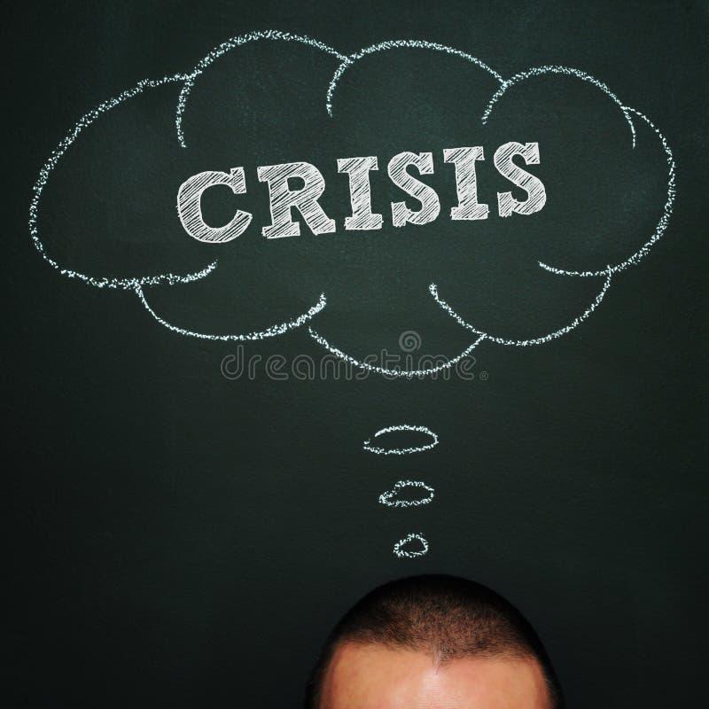 Crisis royalty free stock photos