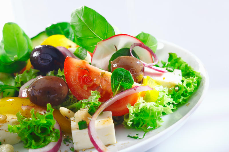 Download Crisp Appetizing Greek Salad Stock Photo - Image: 26007102