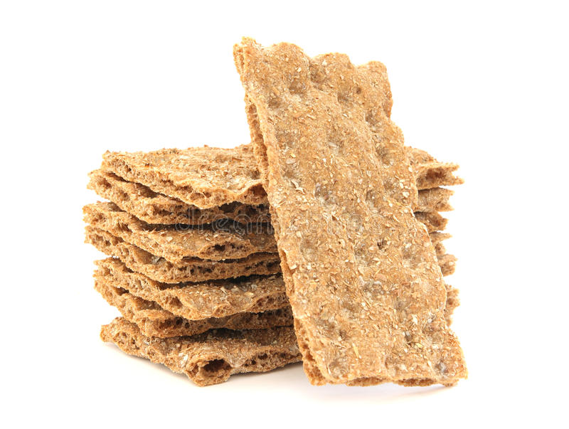 Crisp hard bread royalty free stock photos
