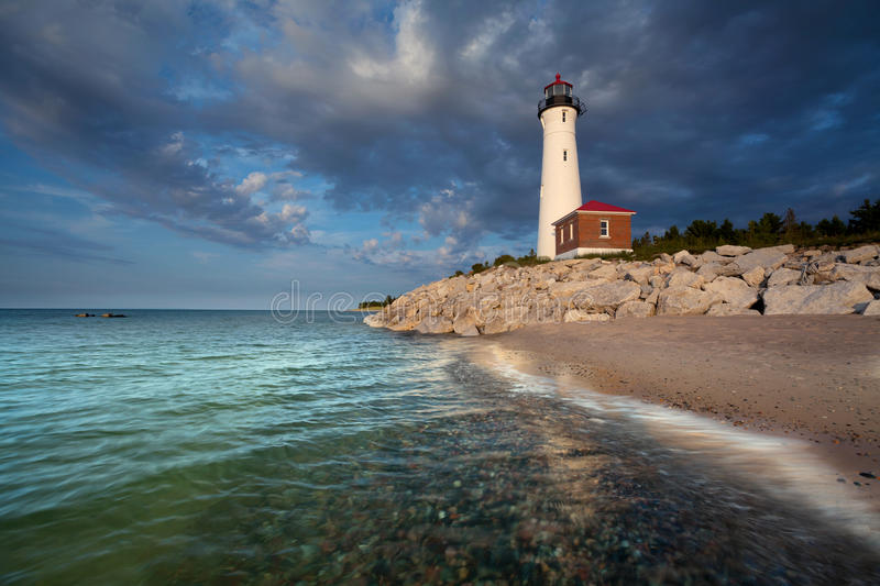 Download Crisp Point Lighthouse. stock photo. Image of building - 26003248