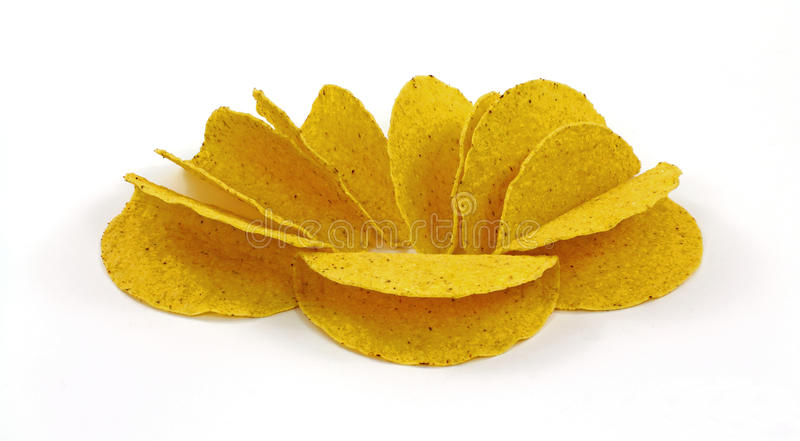 Crisp Taco Shells stock images