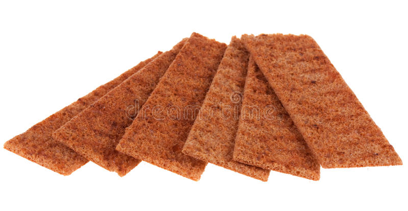 Download Crispbread cienki obraz stock. Obraz złożonej z węglowodany - 13332713